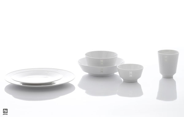 RICE dinnerware collection
